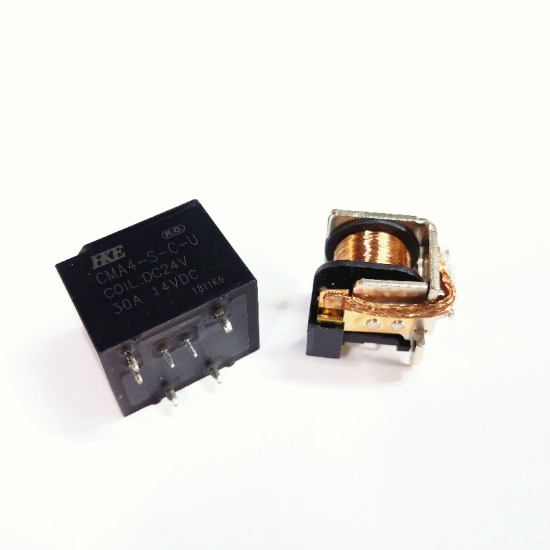 plastic sealed type relay